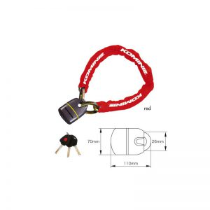 LK-111 Square Chain Pad Lock